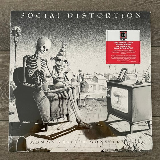 Image of Social Distortion - Mommy's Little Monster Vinyl LP