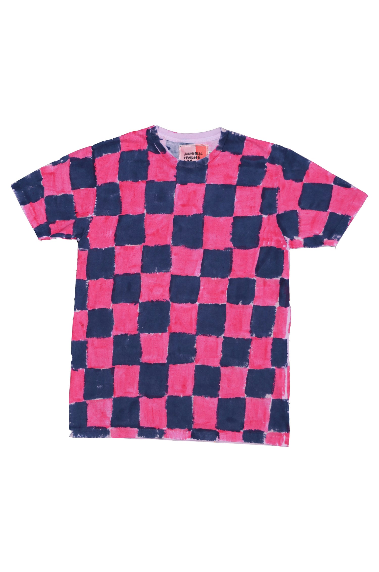 Image of hot pink and navy M