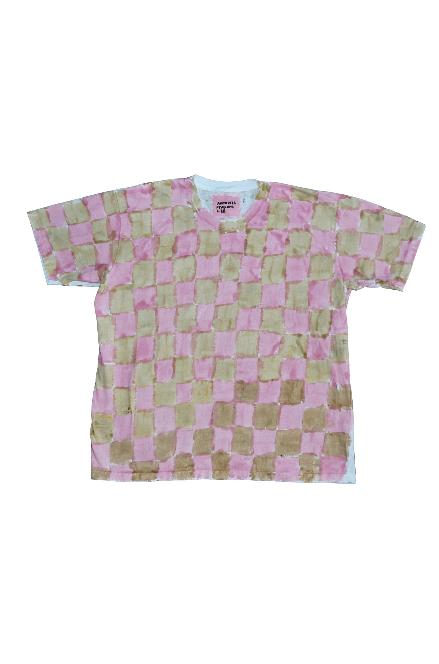 Image of pink and ecru xl