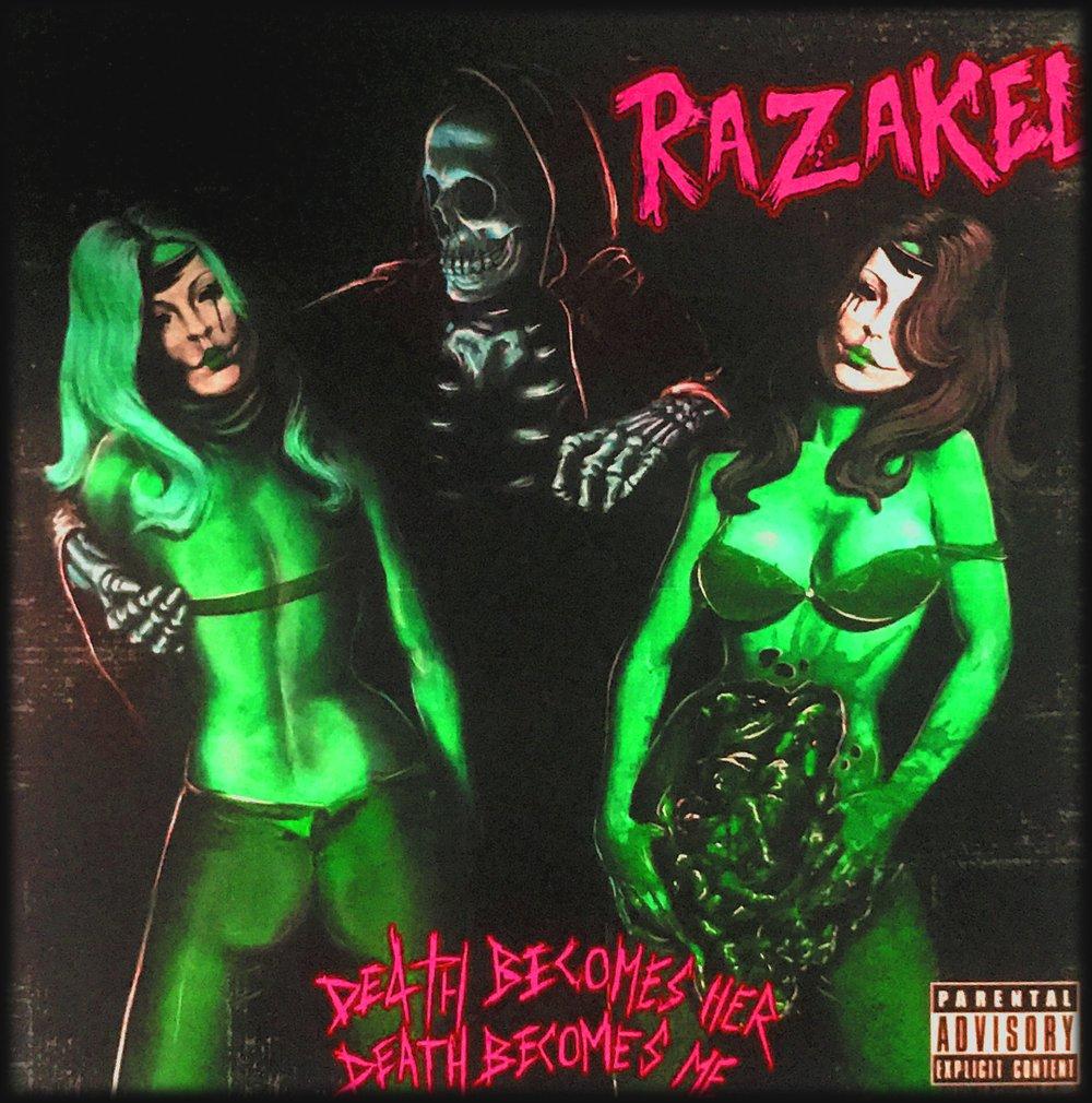 Razakel - Death Becomes Her, Death Becomes Me CD