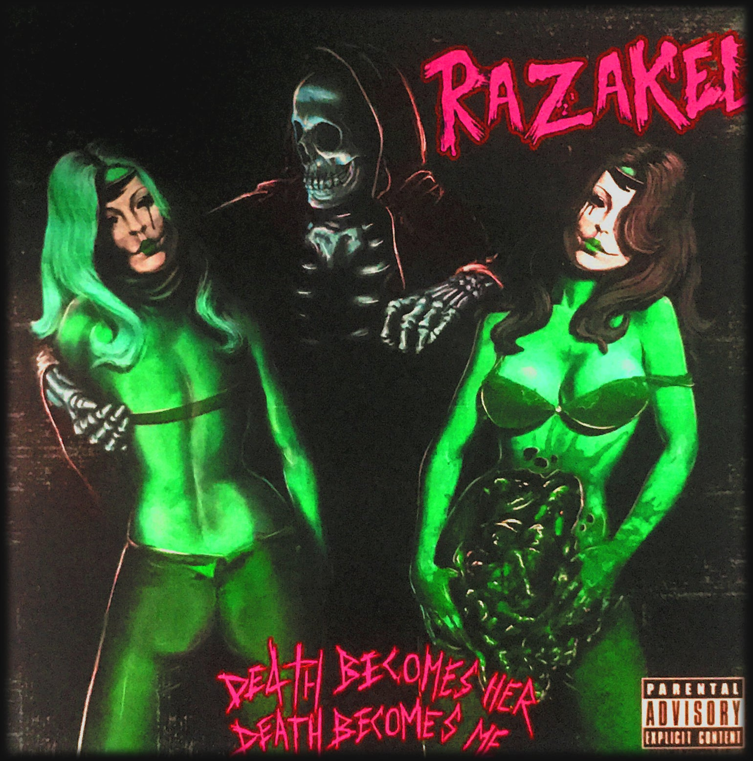 Image of Razakel - Death Becomes Her, Death Becomes Me CD