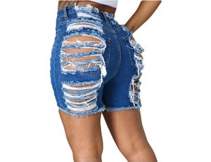 """Image of """"Cut Up"""" Destroyed Shorts"""
