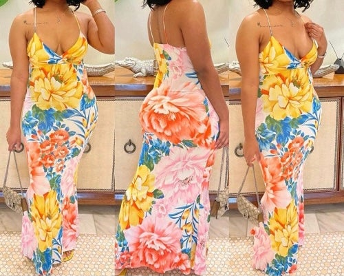 """Image of """"Meadows"""" Floral Maxi"""