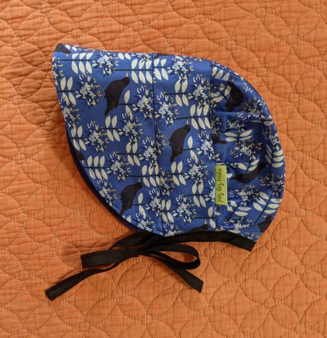 Image of Reversible Sun Bonnet - Bowerbird