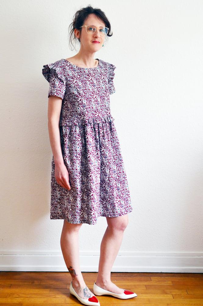 Image of Patron PDF robe/blouse Ondina