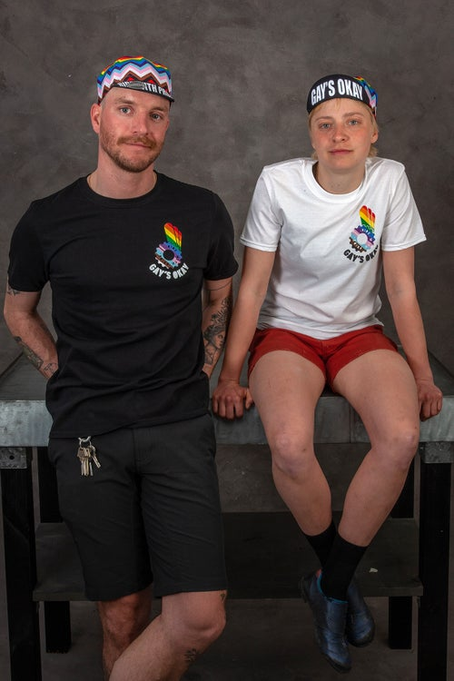Image of RIDE WITH PRIDE T-SHIRT