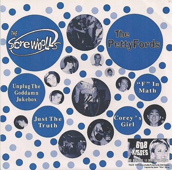 "The Pettyfords / The Screwballs  – From Neenah To Waipahu (7"")"