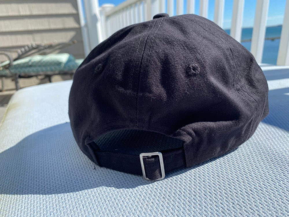 Unstructured Twill SSD Outline Logo Black Hat