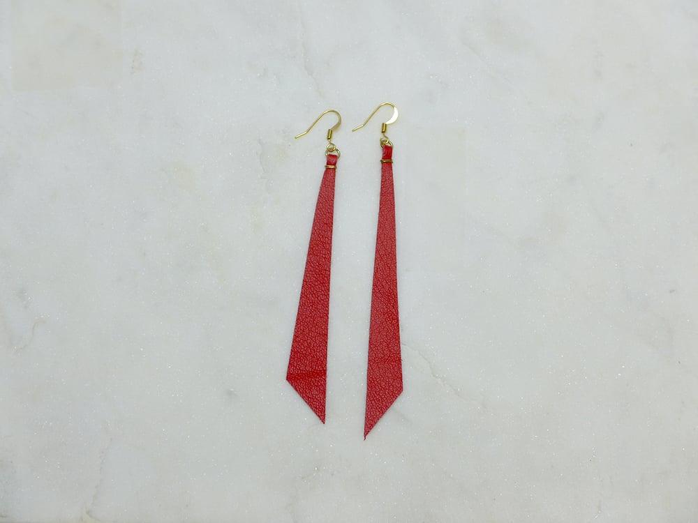 Image of Rebel Chic Borderline Earrings