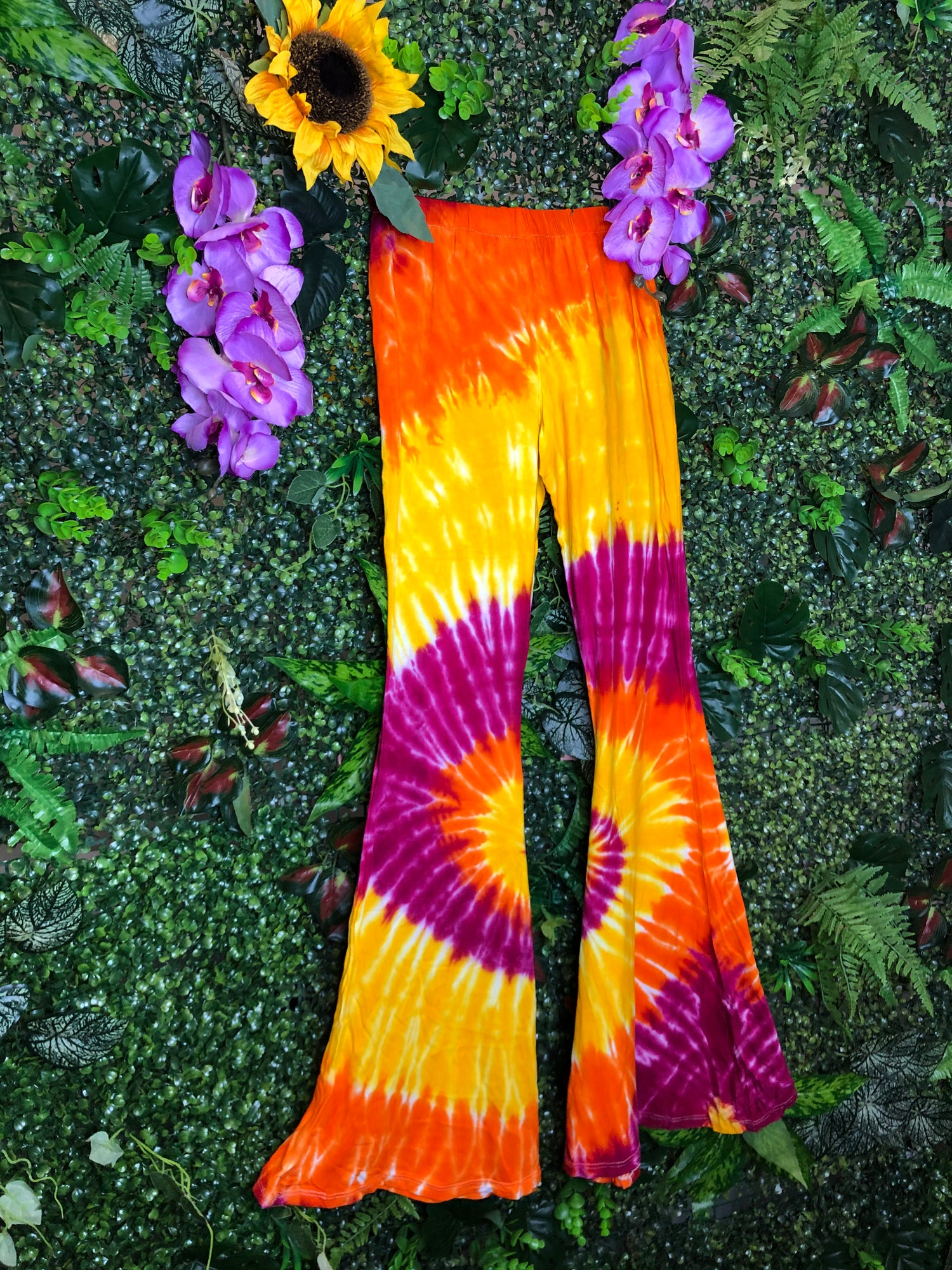 Image of Tie Dye Flares - Palermo
