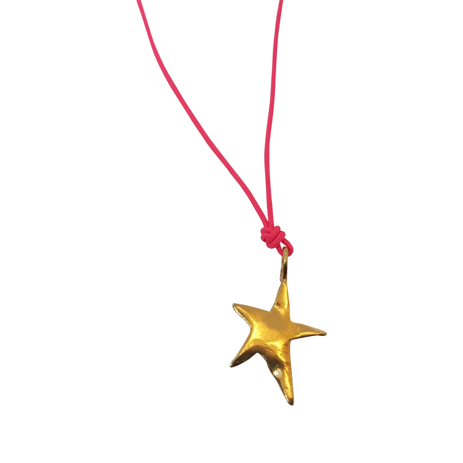 Image of Ziggy star charm with Cord