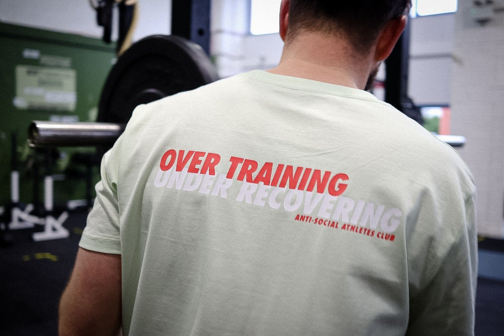 Image of Over Training Crew Green/Red