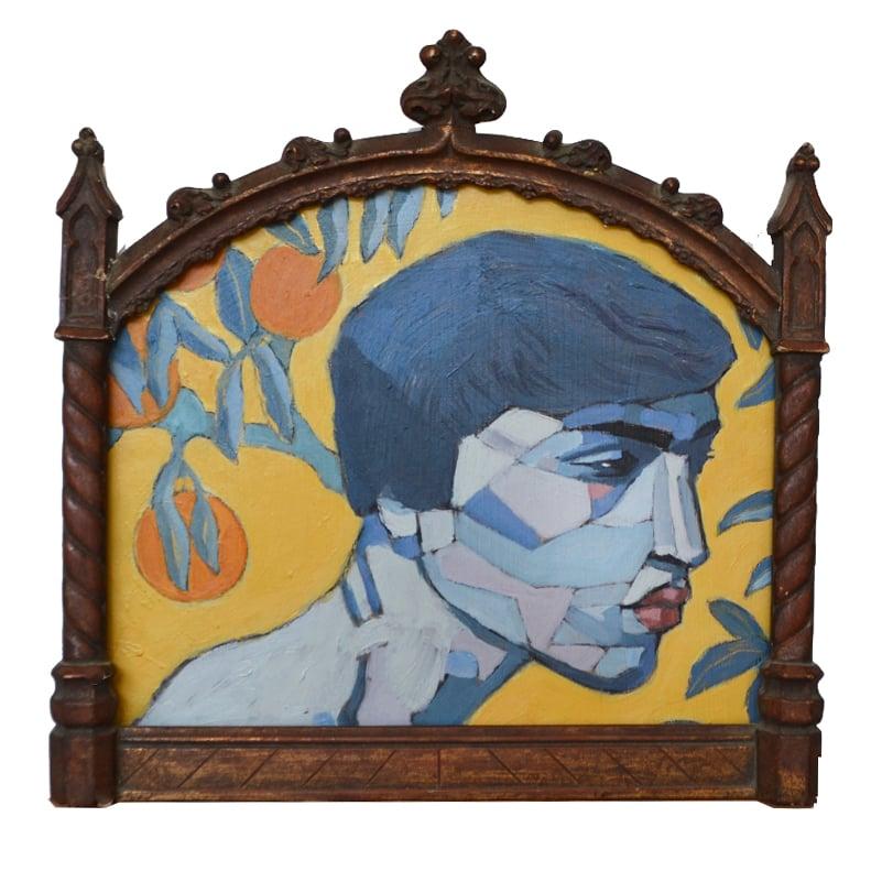 Image of Contemporary Painting, 'Orlando with Oranges', Poppy Ellis
