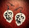 Zombie head custom made dangles