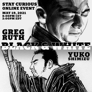 Image of NEW: online talk event with artist Greg Ruth MAY 19