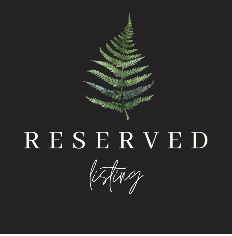 Image of Reserved for Amanda D.