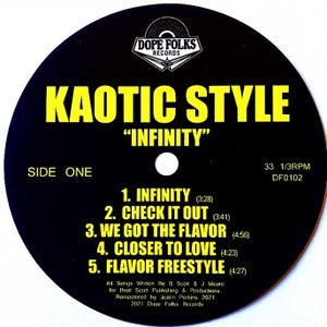 """Image of KAOTIC STYLE """"INFINITY"""" LP"""