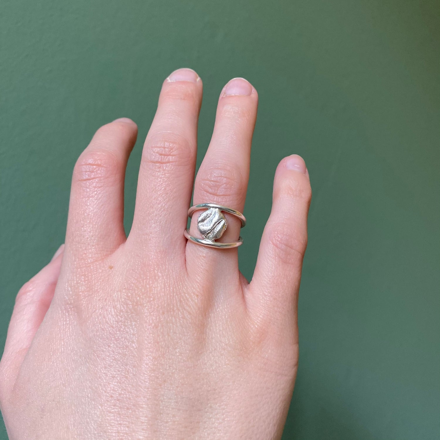 PRE ORDER  Uisce Double Bar Ring