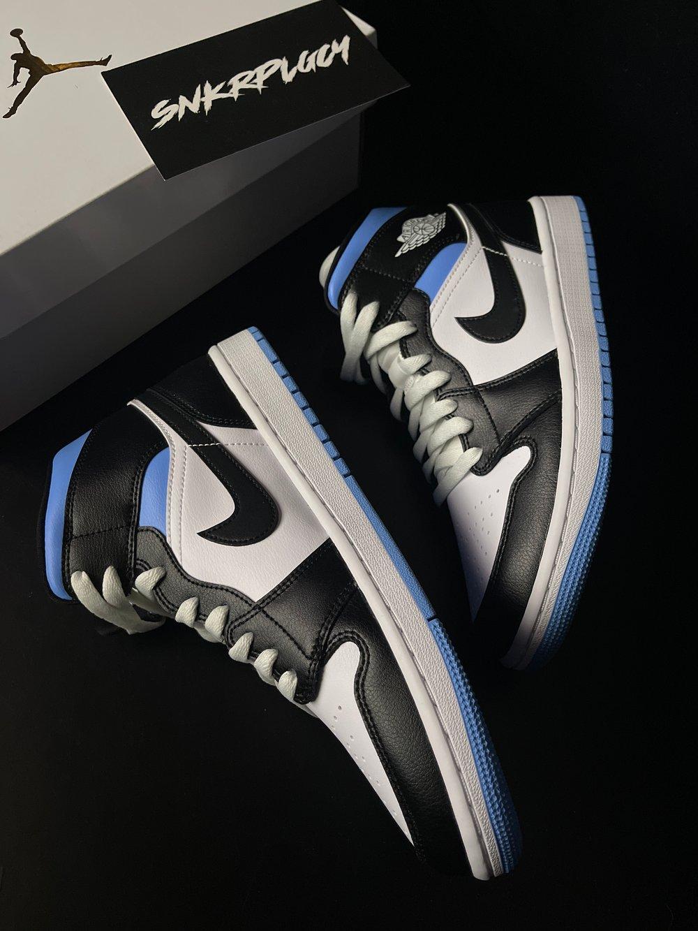 """Air Jordan 1 Mid """"University Blue"""""""