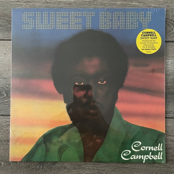 Image of Cornell Campbell - Sweet Baby Vinyl LP