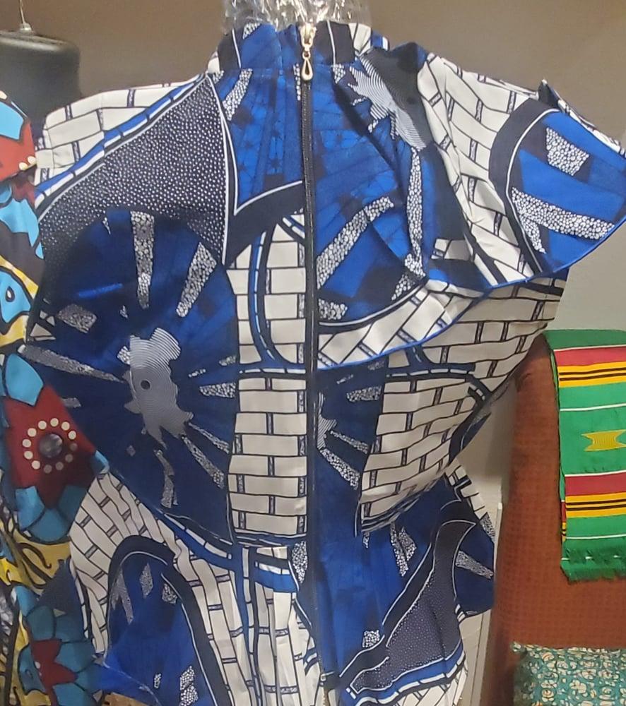 Image of Makeba blouse