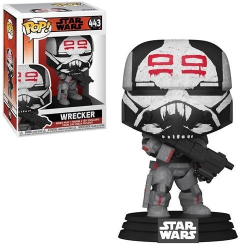 Image of Star Wars The Bad Batch Funko Pop Wrecker