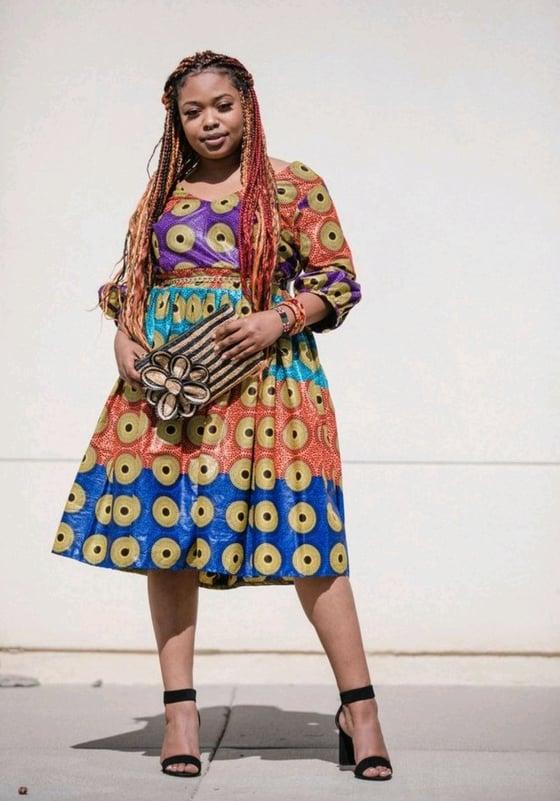 Image of Markel circle dress