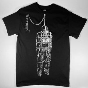 """Image of GRINNING DEATH'S HEAD """"CATACLYSM"""" SHIRT—MORE SIZES ADDED!!"""