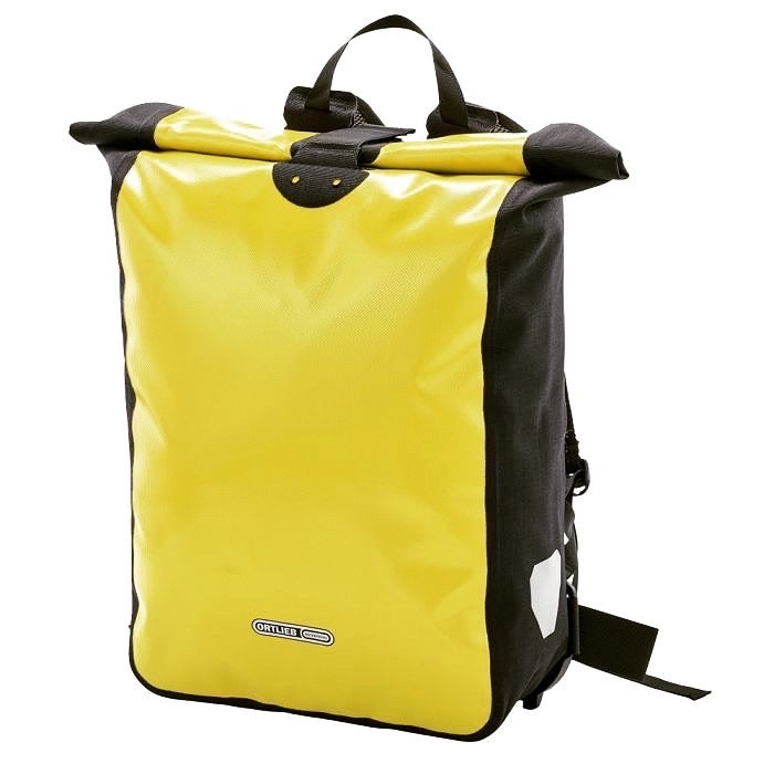 Image of Classic Ortlieb Messenger/Carry All Backpack YELLOW