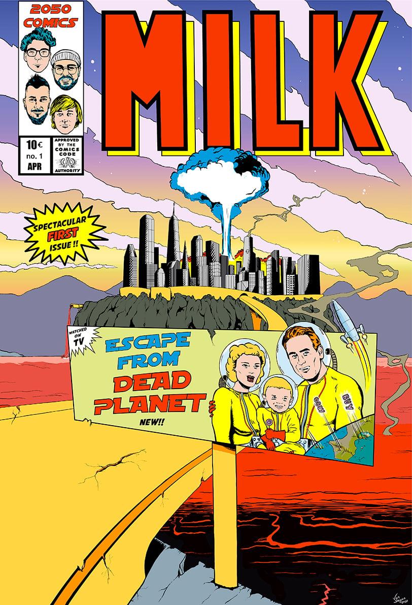 Milk Comic + Digital Music album