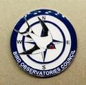Bird Observatories Council Pin Badge