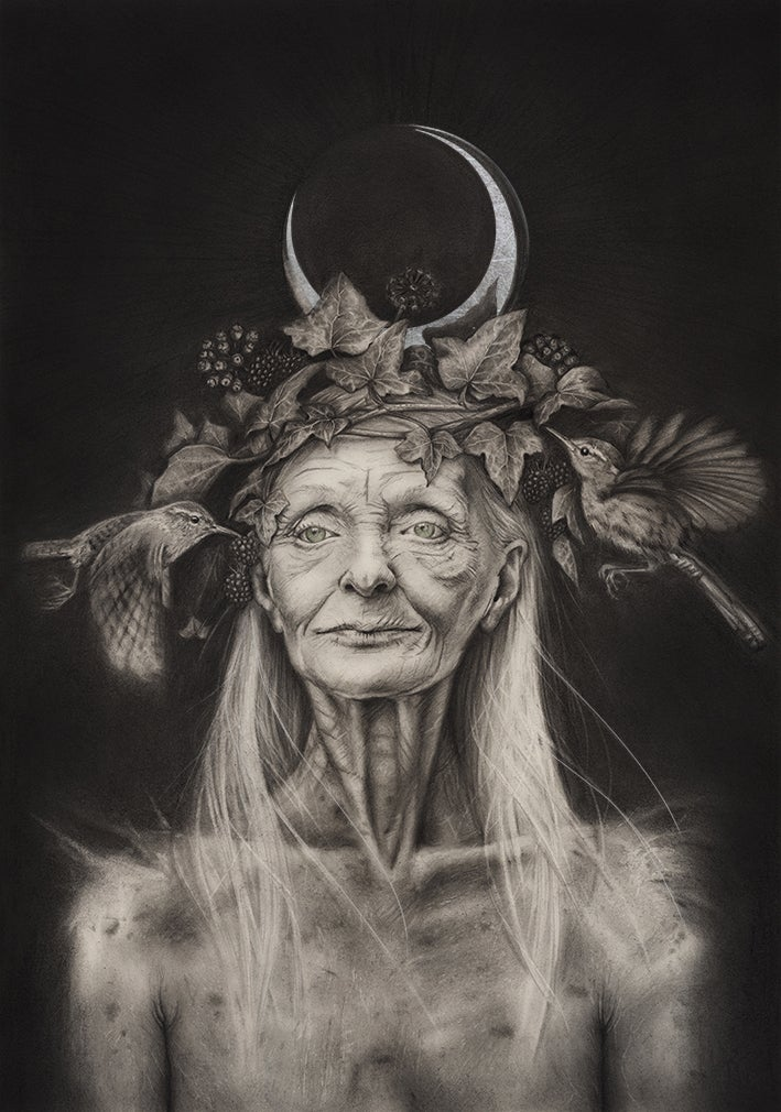 Image of Great Grandmother SILVER LARGE Edition