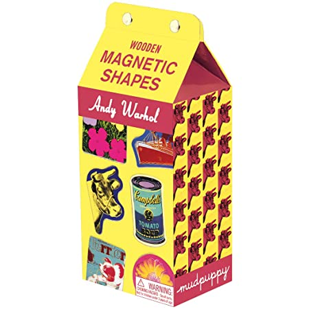 Image of Andy Warhol Wooden Magnetic Shapes
