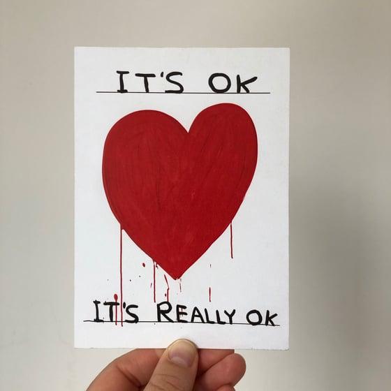 Image of It's OK by David Shrigley
