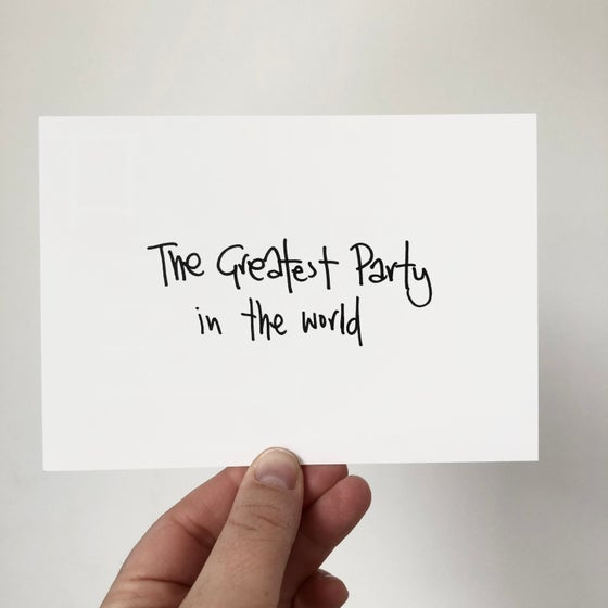Image of The Greatest Party in the Word by Beans on Toast