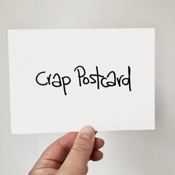 Image of Crap Postcard