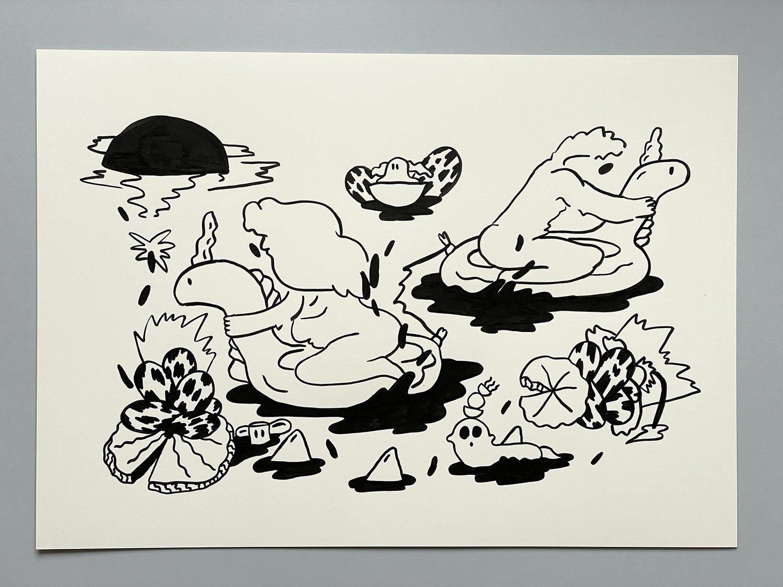 Ink Drawing no. 2