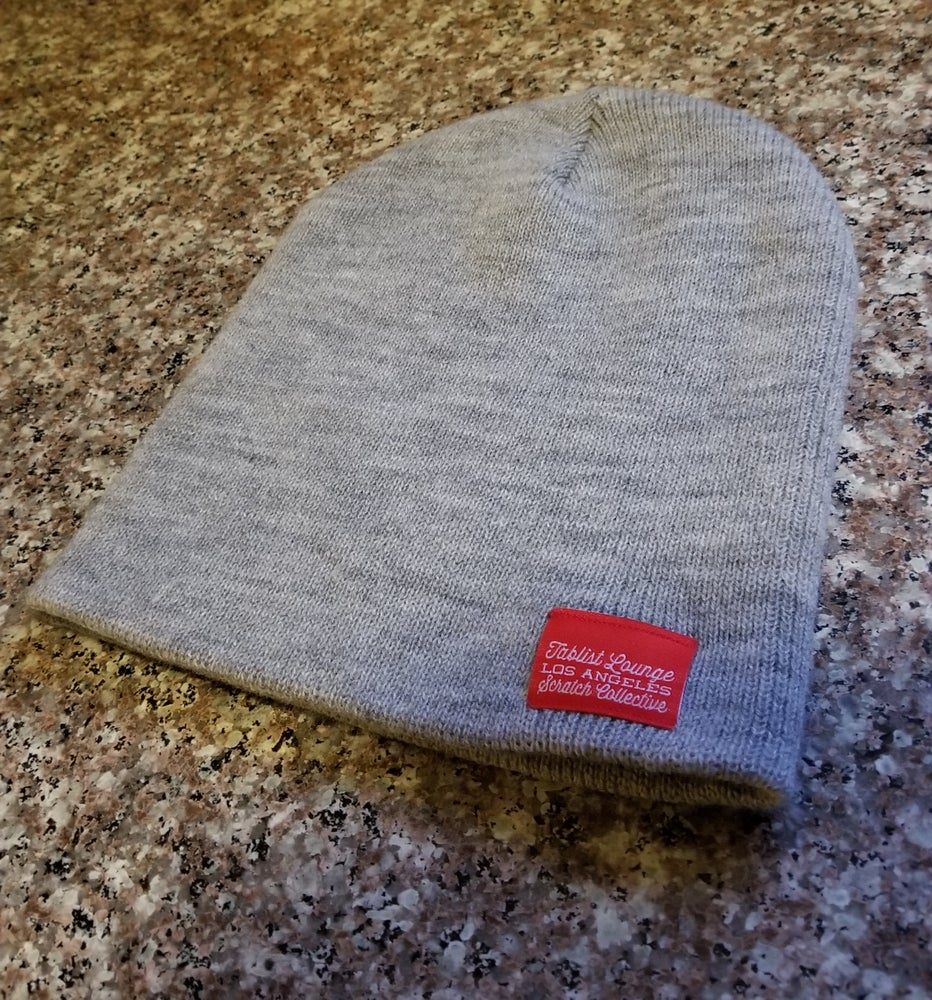 Image of Los Angeles Scratch Collective Beanie Sports Grey