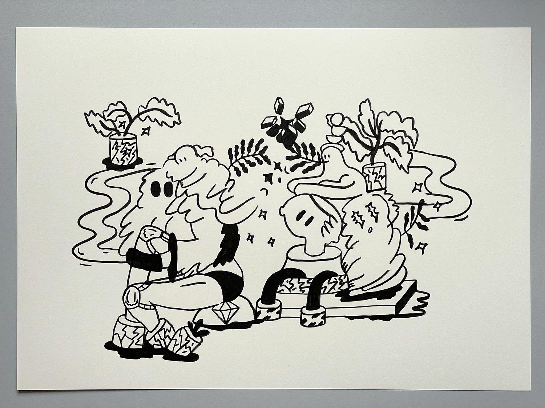Ink Drawing no. 5