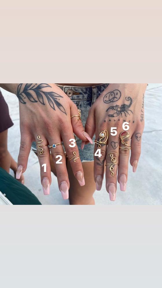 Image of The princess ring set