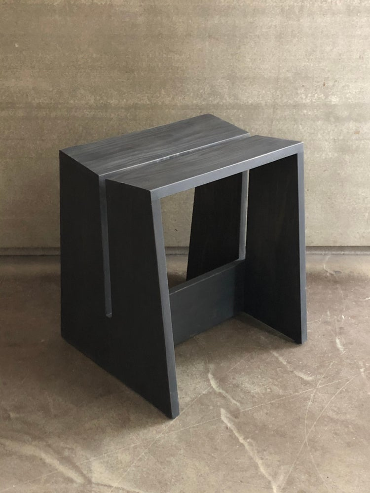 Image of x+l stool (off black)