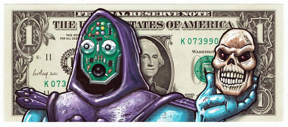 Image of Real Dollar Original. Faceoff Skelator.