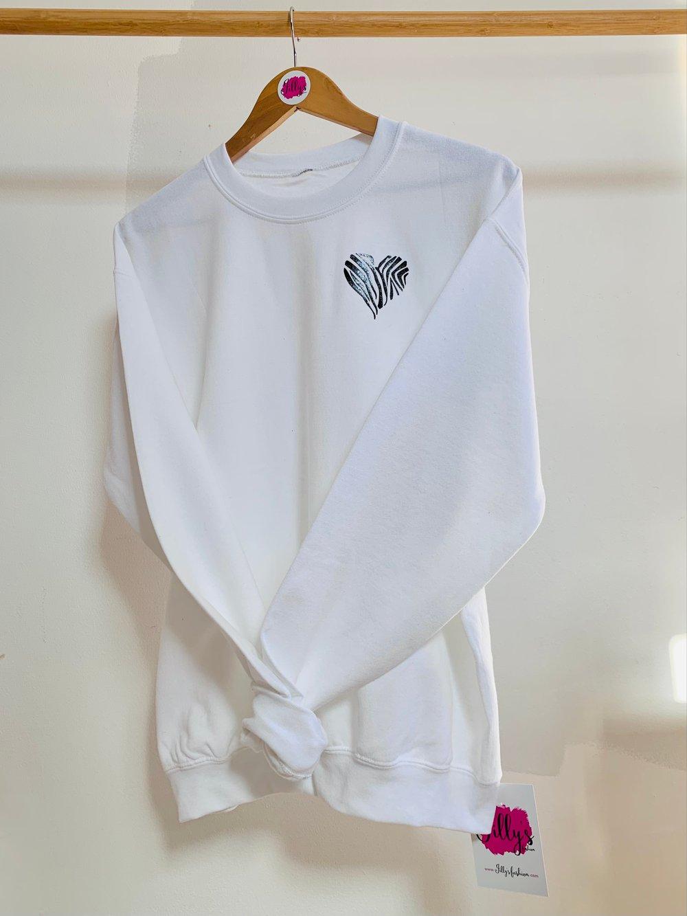 Havanaa heart sweater - adult