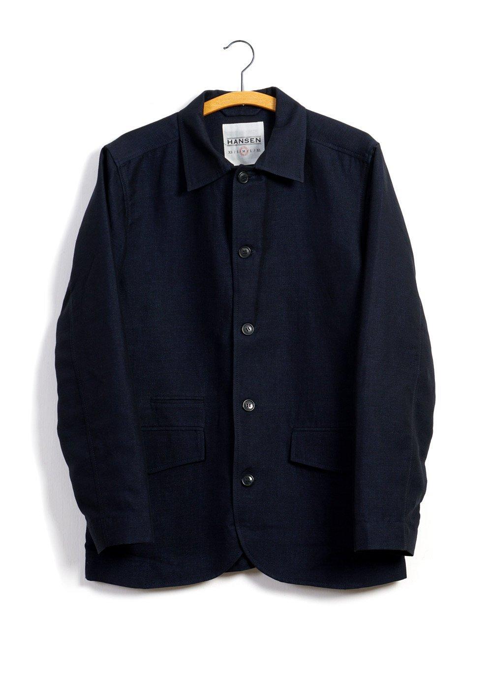 Hansen Garments JOHANNES | Casual Blazer Jacket | 3-tone-blue