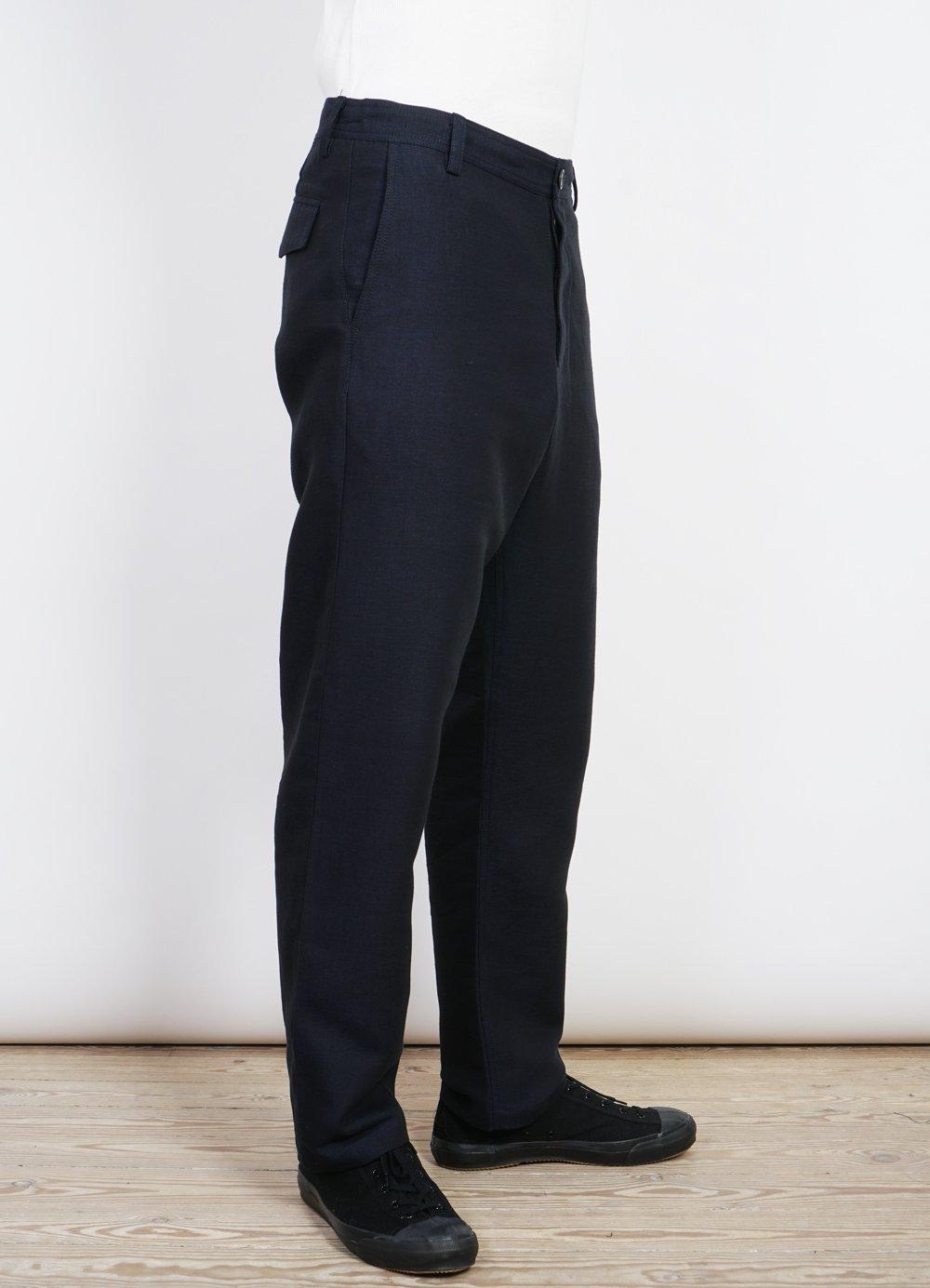 Hansen Garments KEN   Wide Cut Trousers   3-Tone Blue