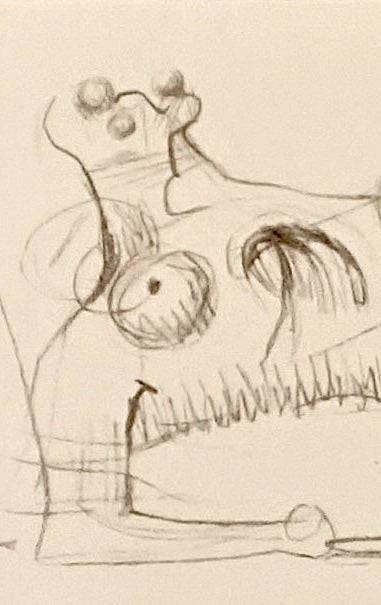 Image of MOORE COLLECTION / reclining figure: one / 27/012