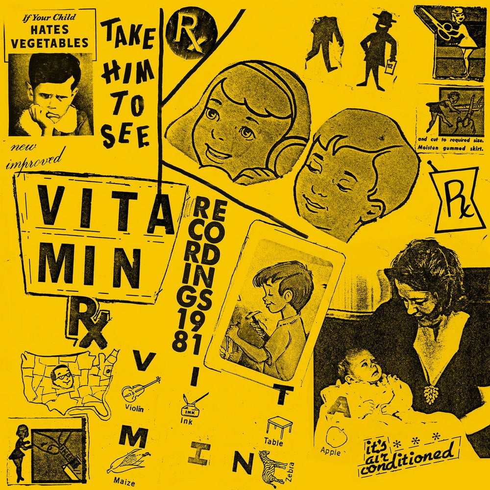 Image of VITAMIN - Recordings 1981 LP