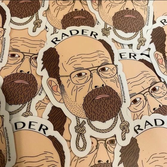 Image of Dennis Rader Vinyl Sticker