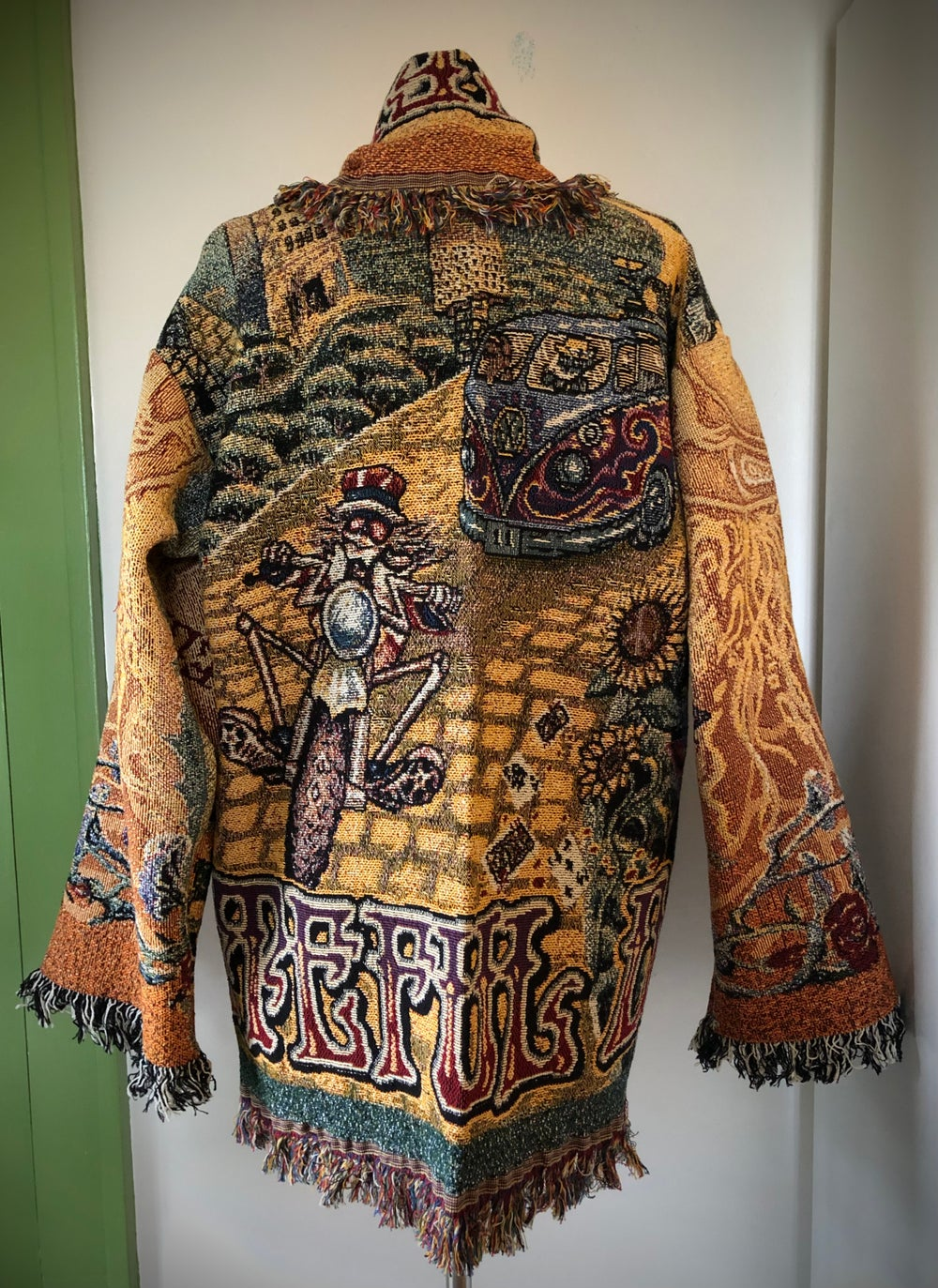 Grateful Dead Fare Thee Well Tour Tapestry jacket