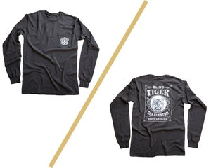Image of Blind Tiger Long-Sleeve: Gray